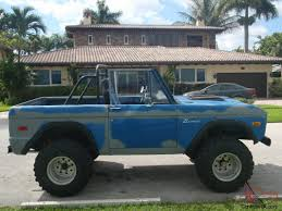 Ford Vintage Truck For Sale - ford bronco original paint offroad classic vintage suv truck jeep