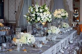 wedding table setting exles green and silver wedding wedding ideas uxjj me