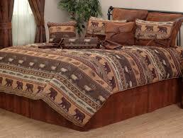 Cabin Bed Sets Jackson Hole Grand Suite Bedding Set Log Cabin Bedroom