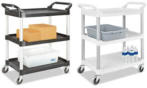 rubbermaid service cart with cabinet rubbermaid service carts rubbermaid carts in stock uline ca uline