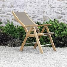 Teak Patio Furniture Modena Reclining Chair Teak Outdoor Furniture Terra Patio