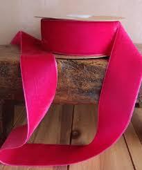 pink velvet ribbon hot pink velvet ribbon