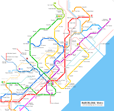 Europe Train Map by Urbanrail Net U003e Europe U003e Spain U003e Catalonia U003e Barcelona Metro