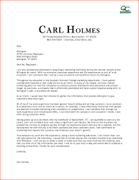 Cover Letter Seeking Employment Cover Letter Marketing Director Gallery Cover Letter Ideas