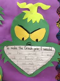 grinch writing paper first grade smiles grinch day finally while the kids were writing guess who showed up for a visit the grinch