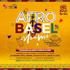 afrobaselmiami afro caribbean day party art basel edition