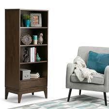 Home Office Furniture Auburn Simpli Home Bookcases Home Office Furniture The Home Depot