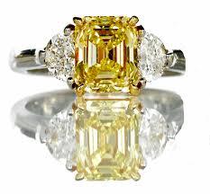 yellow engagement rings fancy yellow diamond ring hamilton jewelers