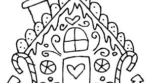 printable gingerbread house colouring page house coloring pages printable free gingerbread house coloring pages