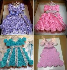 Pull Apart Cupcake Cakes - Pull apart cupcake designs