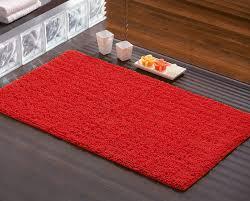 tappeti da bagno tappeto da bagno rosso