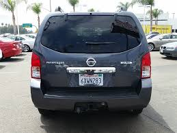 nissan pathfinder anchor points 2012 used nissan pathfinder 4wd 4dr v6 silver edition at bmw north