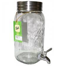 decorative drink dispenser 4 litre ball mason