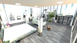 3d apartment apartment 2 roomsseparate bedroom living room with kitchen