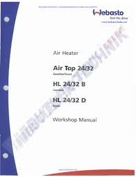 webasto air top hl32 d workshop manual pdf flipbook