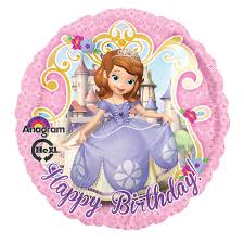 disney junior sofia foil balloon birthdayexpress