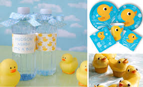 rubber duck baby shower decorations eight exles of baby shower themes with free onesie banner