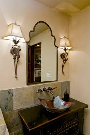 Uttermost Wall Sconces Pretty Uttermost Mirrors In Powder Room Traditional With Jack And