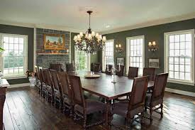 Traditional Dining Room With Wall Sconce  High Ceiling In - Wall sconces for dining room