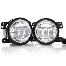 led fog light kit jeep jk led fog light kit chrome