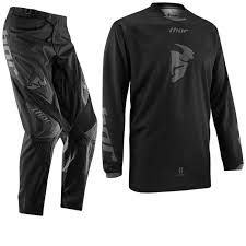 thor motocross gear nz thor 2014 phase s14 black out mx enduro mtb jersey u0026 pants combo