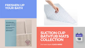 suction cup bathtub mats collection freshen up your bath youtube suction cup bathtub mats collection freshen up your bath