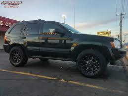 cherokee jeep 2005 2005 jeep grand cherokee moto metal mo970 wheels satin black milled