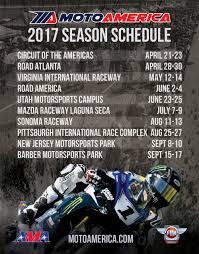 ama motocross schedule new schedule for motoamerica superbike doubleheaders motoamerica