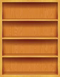 Bookshelf Background Image Empty Bookshelf Clip Art Vector Images U0026 Illustrations Istock