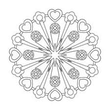 complex mandala coloring pages printable google