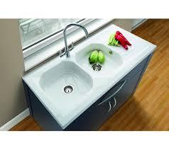 X Mm Villeroy  Boch Provence Ceramic Sinks Double Bowl - Sit on kitchen sink