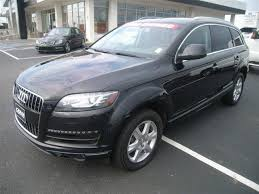 audi suvs 2015 find a used black 2015 audi q7 suv in conway ar vin
