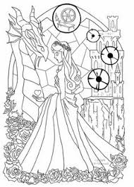 disney princess aurora coloring pages team colors disney u0026
