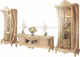 Country Style Tv Cabinet French New Baroque Classic Living Room Display Cabinet European