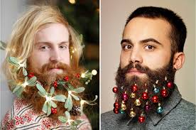 beard ornaments jingle beards hipsters are putting christmas ornaments in their