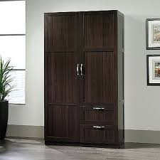 Unfinished Bookcases With Doors Wardrobes Wood Closet Armoire Wood Armoire Storage Cabinets With
