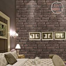 aliexpress com buy decorative vinyl imitation red brick wall