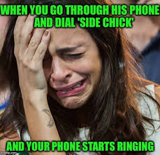 Funny Side Chick Memes - that moment imgflip