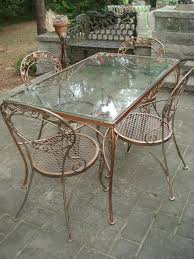 Patio Table Parts Replacement by Patio Furniture Used Woodard Patioiture For Sale Repair Parts