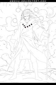 naruto 663 madara sage of six paths by deohvi on deviantart