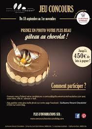 jeux de concours de cuisine jeu concours guillaume vincent chocolatier