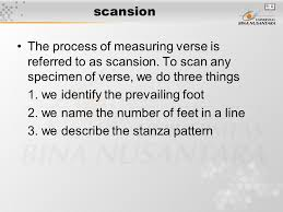 rhythm and meter rhythm meter verse foot scansion ppt download