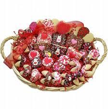 Chocolate Gift Baskets Valentine Sweethearts Bakery Gift Basket Valentine Gift Baskets
