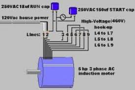wiring diagram for 3 phase electric motor wiring diagram