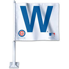 Chicago Cubs Flags Chicago Cubs W And Win 12