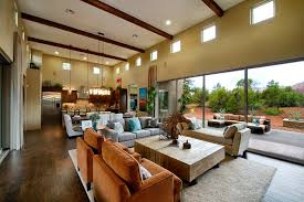 Room Layout Ideas Family Room Transitional With Tall Ceilings - Ideas for family room layout