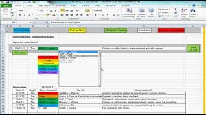 Todo List Template Excel Excel Spreadsheet Providing List Of Reminders Future Tasks To