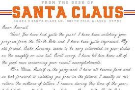 santa writing paper santa claus is a clemson alum recruiting letter reveals santa claus is a clemson alum recruiting letter reveals sbnation com
