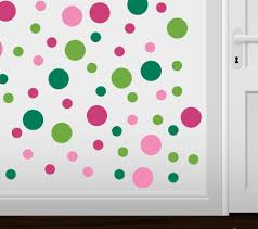 online get cheap dot vinyl aliexpress com alibaba group set of 60 circles polka dots vinyl wall graphic decals stickers colorful home decoration kids room