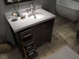 Custom Bathroom Vanity Tops Miraculous Custom Polished Concrete Vanity Top With R Sink A